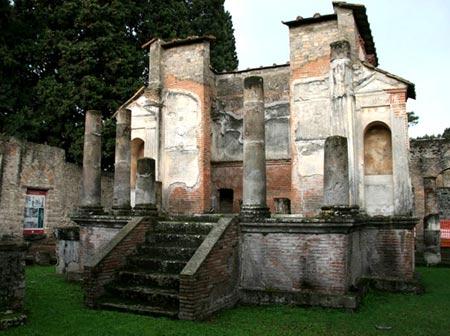 عکس های جذاب شهر سوخته پمپی ایتالیا