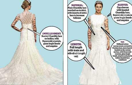 منتخب ترین لباس عروس 2013 به بازار آمد (عکس)