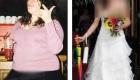 دختر چاقی که عروس رویایی شد (عکس)