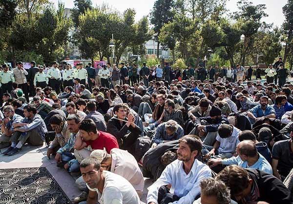 دستگیری خرده فروشان مواد در تهران (عکس)