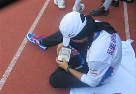 کار قابل تحسین سریع ترین زن ایرانی (عکس)