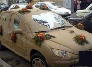 عکس های دیدنی از ماشین عروس های متفاوت در ایران