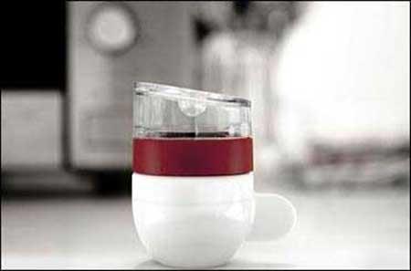 قهوه ساز به این کوچکی دیده بودید (عکس)