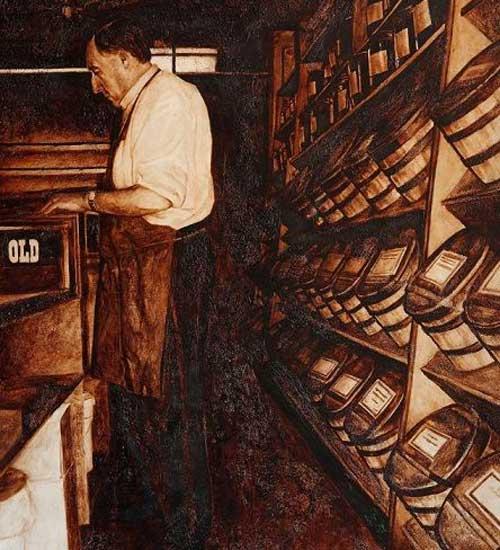نقاشی از نوع قهوه و چای