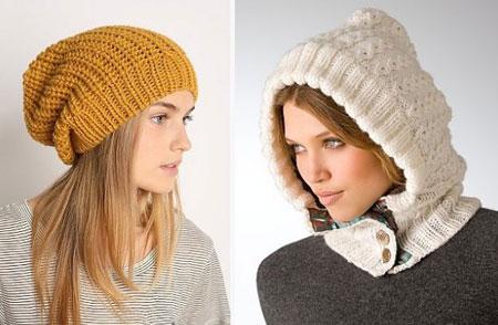 دخترانه ترین کلاه های بافتنی 2014