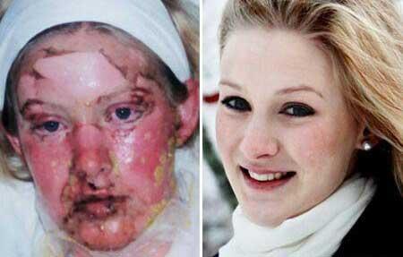 دختری که فقط خدا با او یار بود و نجاتش داد