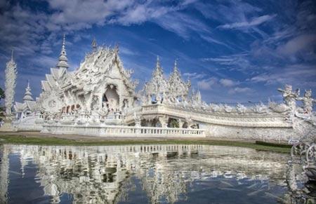 معبد  وحشتناک سفید وات رونگ خون در تایلند (عکس)