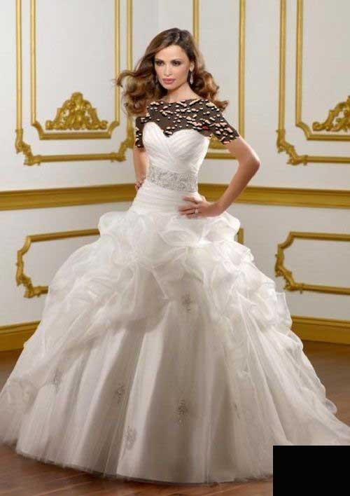 مدل لباس عروس ساده و شیک