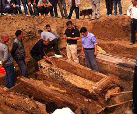جسدی که پس از 3 قرن سالم مانده بود  (18+)