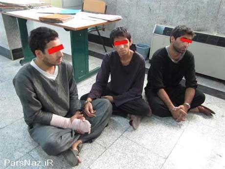 عکس هایی از زورگیری در تهران