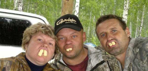 صحنه های خنده دار و سوژه مردم روسیه