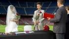 اتفاق جالب و رمانتیک در بازی بارسلونا رئال مادرید