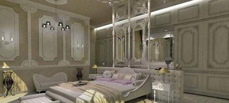 اتاق خواب های شیک و سلطنتی (عکس)