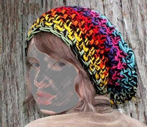 شال و کلاه بافتنی جدید 2013