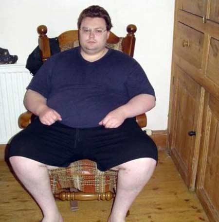 لاغر شدن یک پسر بخاطر متلک یک دختر (عکس)