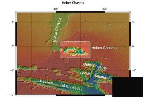 عکس سه بعدی سیاره مریخ