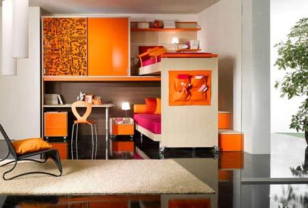 عکس های زیبای کمد و تخت های دو طبقه