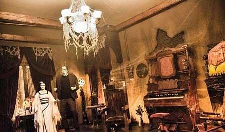 خانه ای وحشتناک متعلق به زن و شوهر عجیب