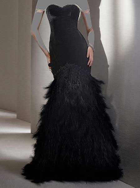 لباس شب های مجلل 2014