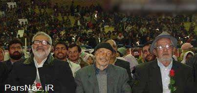 عکس 3 مرد مشهور و تحسین بر انگیز ایرانی