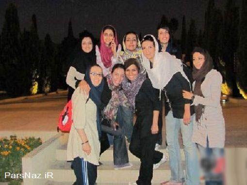 عکس جنجالی از بلند قدترین دختر ایرانی