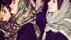 عکس دیده نشده از هانیه توسلی و خواهرش