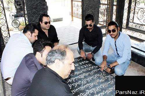 عکس جدید از پسر زنده یاد ناصر عبدالهی