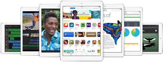 رونمایی iPad Air شرکت اپل (عکس)