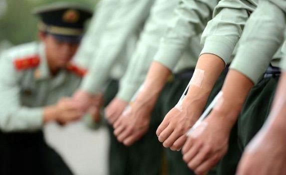 پیچیده ترین خدمت سربازی در دنیا (عکس)