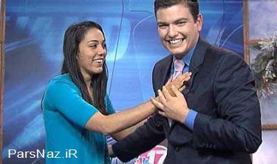 خواستگاری جنجالی در برنامه زنده (عکس)