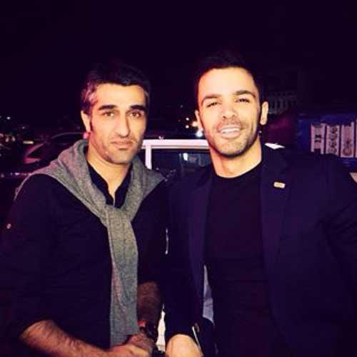 عکس جدید سیروان خسروی در کنار پژمان جمشیدی