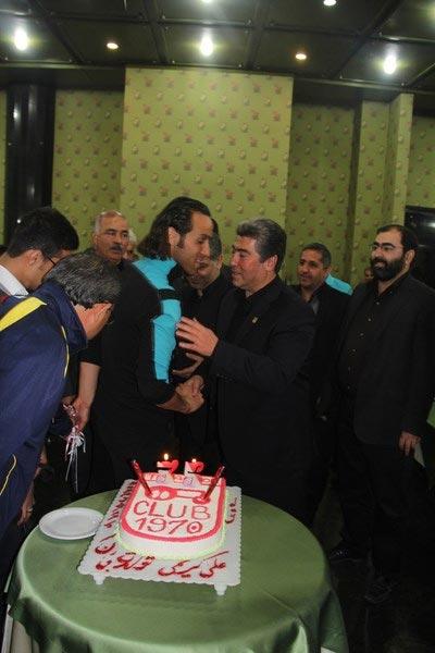 عکس های جالب از جشن تولد علی کریمی