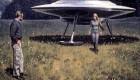 زنی که توسط موجودات فضایی حامله شد (عکس)