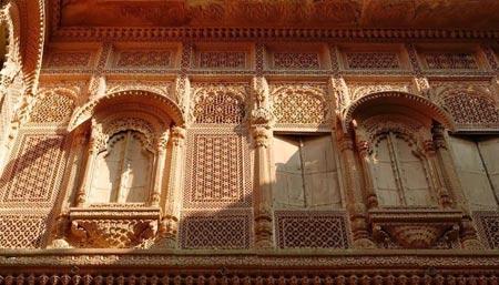 عکس های تاریخی و کهن قلعه مهرانگهر در هند