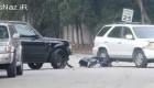 عکس جنجالی تصادف دیوید بکام با یک زن