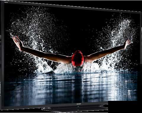 ورود پر سروصدای تلویزیون ۹۰ اینچی شارپ
