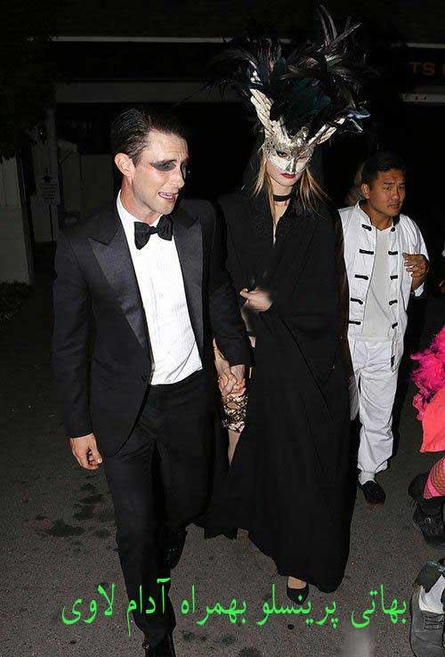 بازیگران مشهور هالیوود در شب جشن هالووین 2014