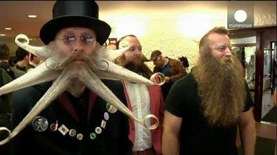 مسابقه دیدنی ریش و سبیل های عجیب