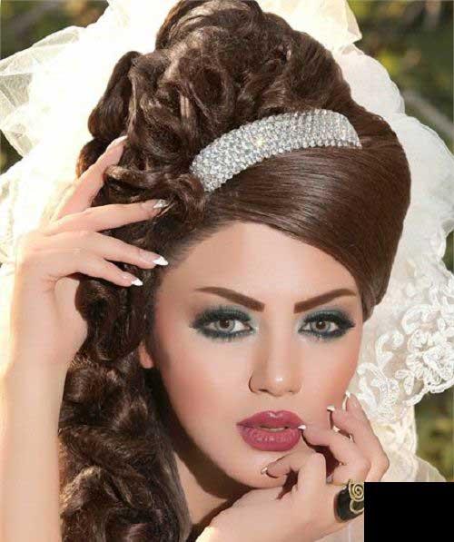 شینیون های جذاب موی عروس 2014