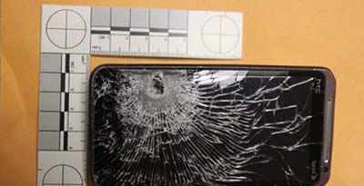 جلیقه ضد گلوله از نوع موبایل (عکس)