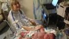 عکس دیده نشده از سنگین ترین نوزاد آمریکایی