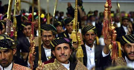 مراسم عروسی شلوغی که بدون عروس است (عکس)