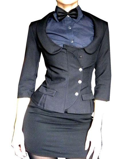 کت مشکی زنانه 2014