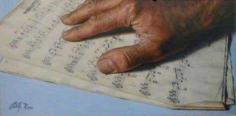 نقاشی های باور نکردنی مرد 40 ساله (عکس)