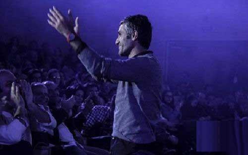 حضور جنجالی پژمان جمشیدی در کنسرت خواننده ایرانی