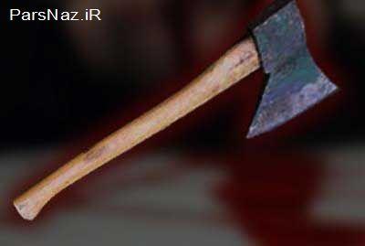 قتل 3 نفر با تبر در کرمان (عکس)