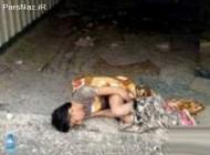 قتل کودک 4 ساله توسط معتاد بی رحم (عکس)