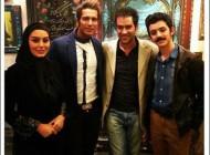 سحر قریشی در کنار شهاب حسینی در فیلم جدیدش (عکس)