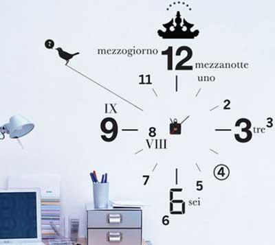 عکس هایی از مدل های ساعت دیواری