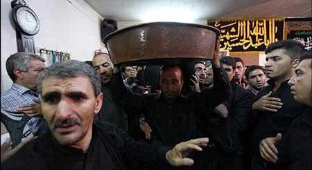 تشت گذاری در تهران خبرساز شد (عکس)